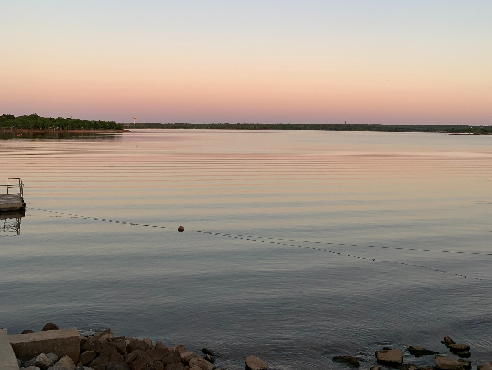 Sun set of a lake